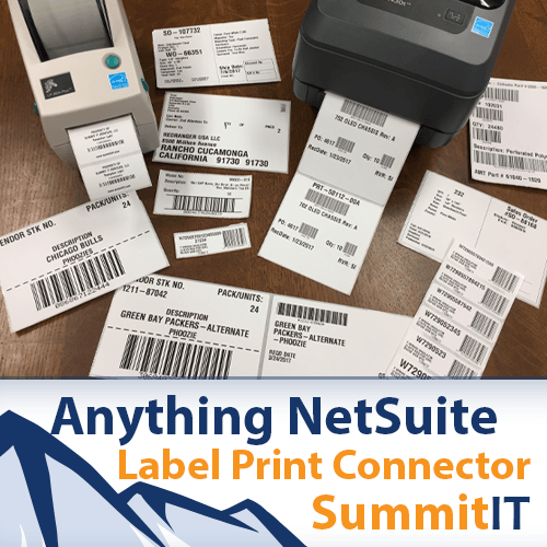 Printing NetSuite Labels From Any Record