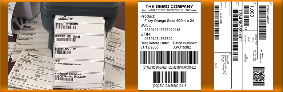 NetSuite Manufacturing Labels