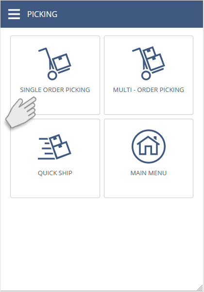NetSuite SCM Mobile / WMS | Single Order Picking | Single Order Picking| Print Labels and PDF Documents from your Mobile Device